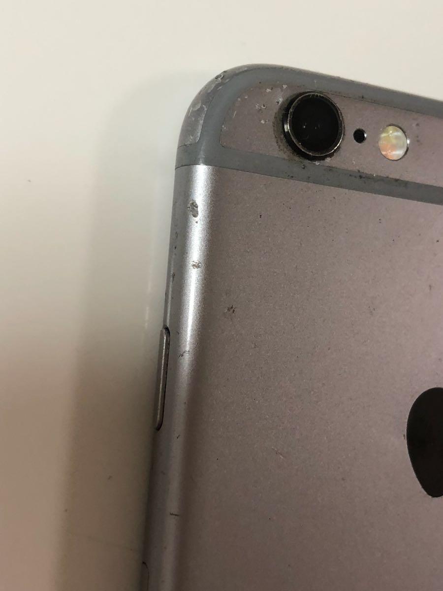 ★ジャンク★iPhone6s 64 スペースグレー_画像5