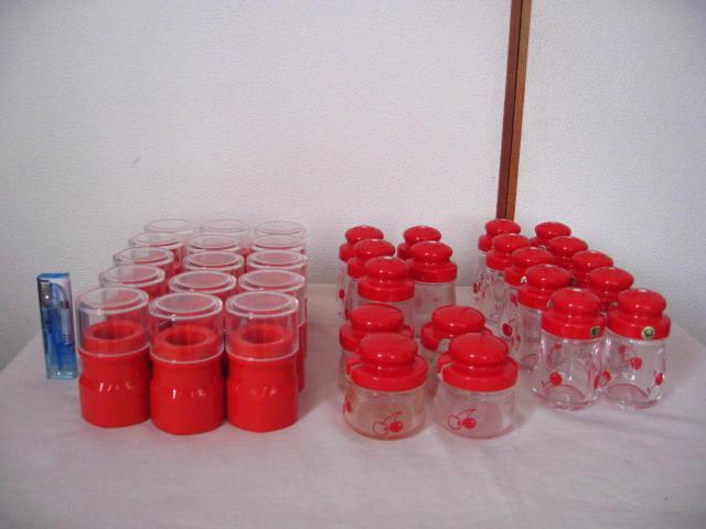 ◆塩・コショウ入れ 15個 爪楊枝入れ 15個 薬味入れ 4個◆業務用◆プラスチック製◆_画像1