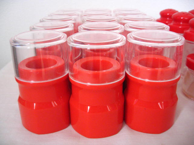 ◆塩・コショウ入れ 15個 爪楊枝入れ 15個 薬味入れ 4個◆業務用◆プラスチック製◆_画像2