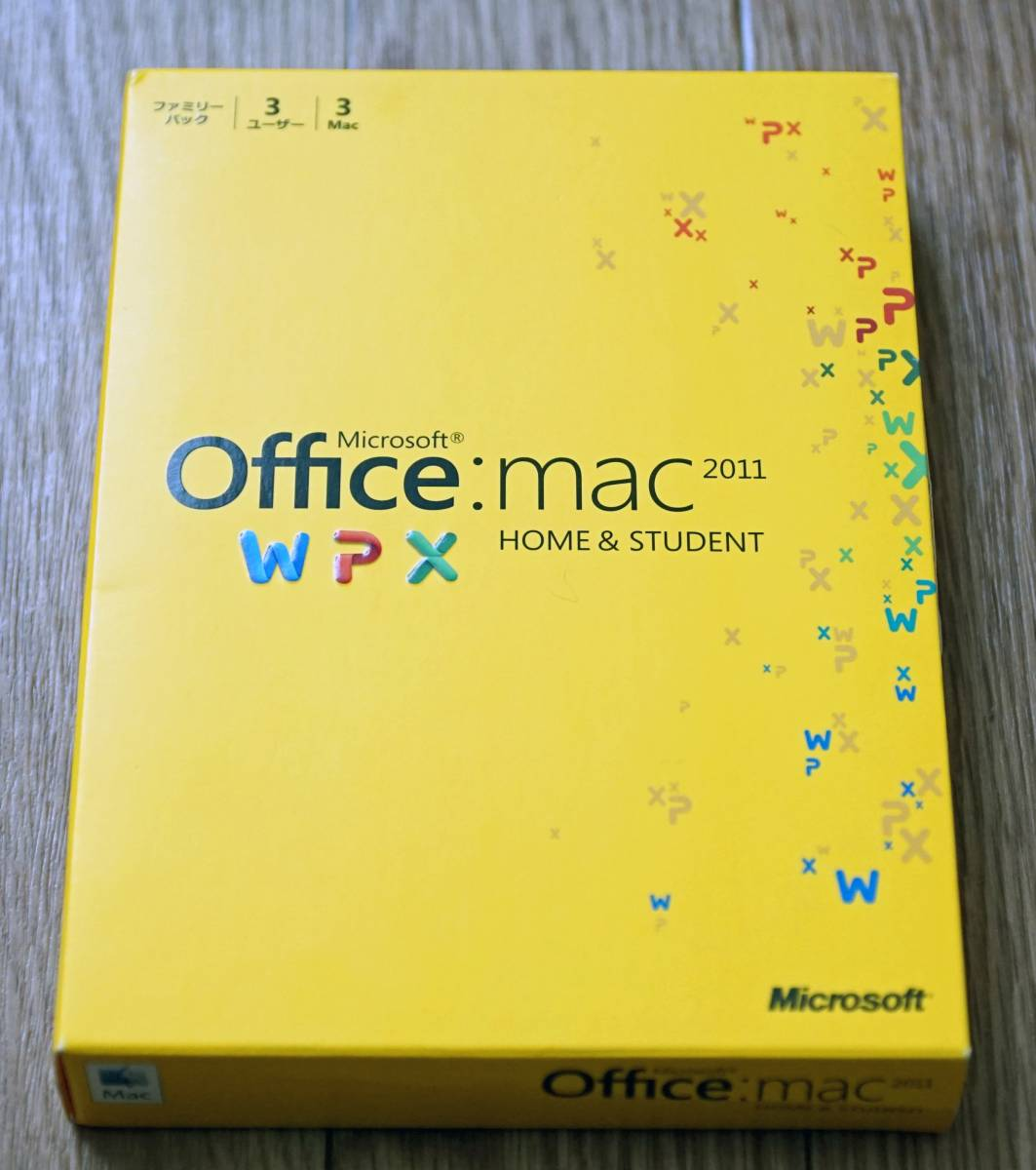 ★☆Office for Mac Home and Student 2011 ファミリーパック☆★