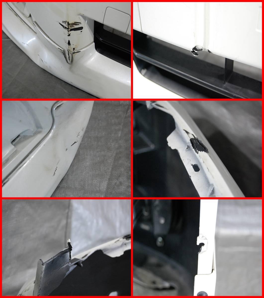 14525 E52 エルグランド 前期 純正 フロントバンパー スポイラー付 62022 1JB0H_画像3