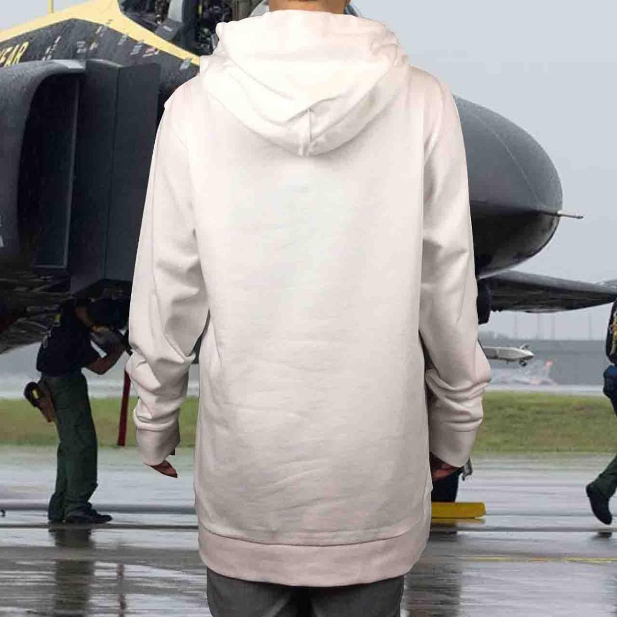 新品 トップガン マーヴェリック トムクルーズ US AIR FORCE 空軍 パーカー XS S M L XL ビッグ オーバーサイズ XXL 黒 Tシャツ ロンT 対応_画像2