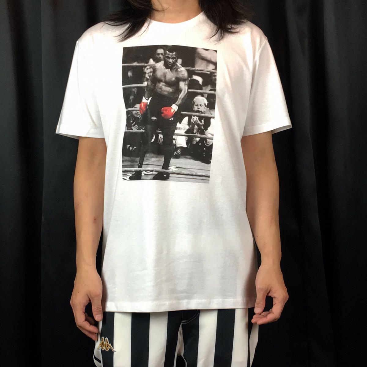 新品 マイクタイソン Tシャツ S M L XL ボクシング モハメドアリ 大きい ビッグ オーバー サイズ XXL 3XL 4XL 5XL ロンT 長袖 黒 対応 可能_画像1