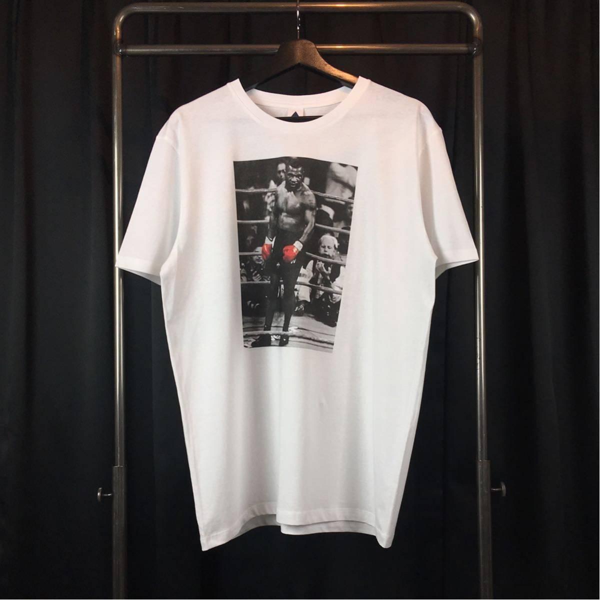 新品 マイクタイソン Tシャツ S M L XL ボクシング モハメドアリ 大きい ビッグ オーバー サイズ XXL 3XL 4XL 5XL ロンT 長袖 黒 対応 可能_画像4