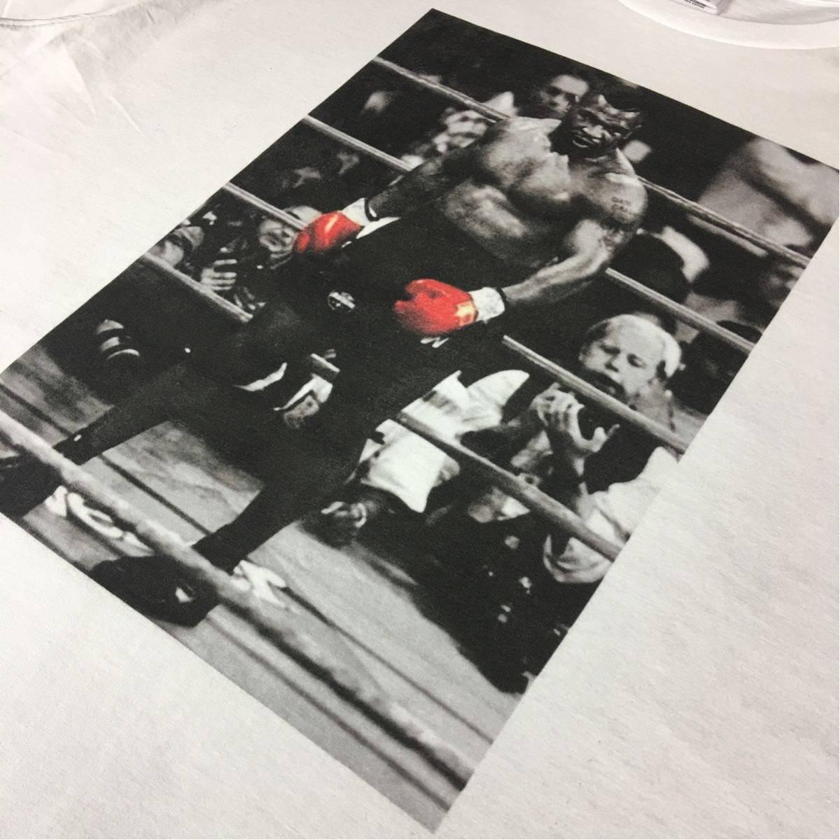 新品 マイクタイソン Tシャツ S M L XL ボクシング モハメドアリ 大きい ビッグ オーバー サイズ XXL 3XL 4XL 5XL ロンT 長袖 黒 対応 可能_画像7