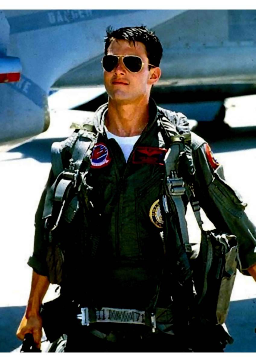 新品 トップガン マーヴェリック トムクルーズ US AIR FORCE 空軍 パーカー XS S M L XL ビッグ オーバーサイズ XXL 黒 Tシャツ ロンT 対応_画像3