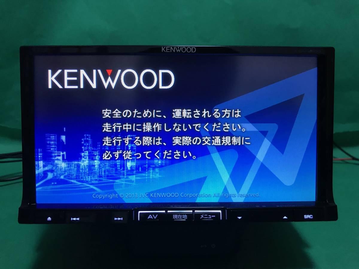 【KENWOOD】MDV-L500 OH済 2013年 走行中視聴改造済 彩速ナビ 新品フィルムアンテナ 新品