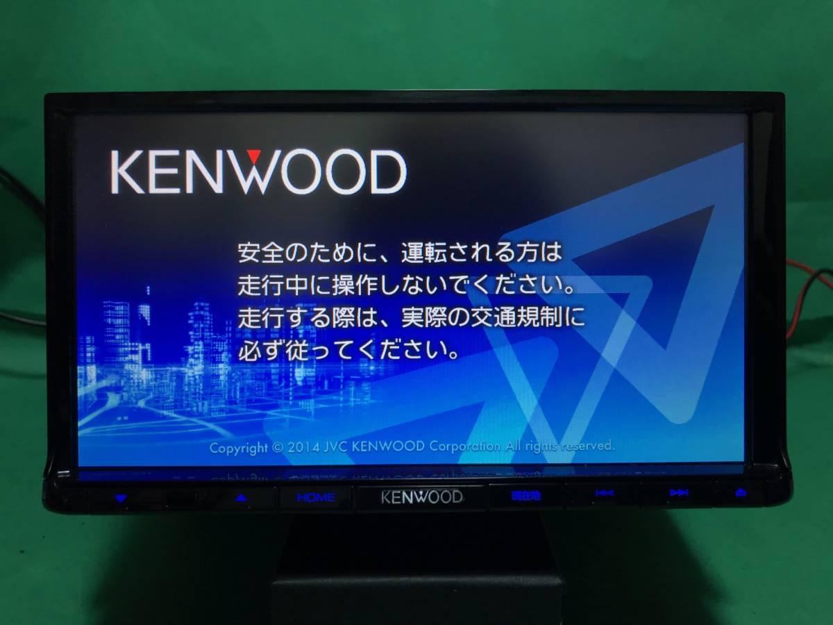 【KENWOOD】MDV-L401 走行中視聴改造済 2014年製 取扱説明書 彩速ナビ 新品フィルムアン