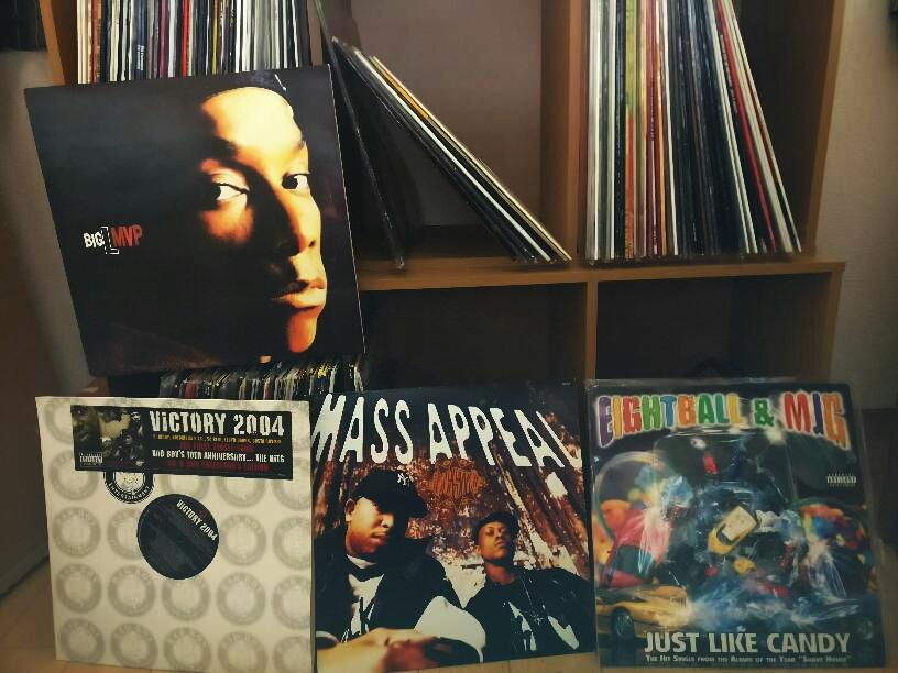 HIPHOPメイン R&Bその他サントラ少々 170枚以上のレコードセット_画像1