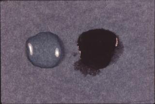 歯科技工 陶材築盛駅 ミサキカラー・カラレス 250ml 透明 ポーセレン ジルコニア トラブル回避 粘性アップの効果 盛りやすい_右 パウダーへの浸透が強くなります。