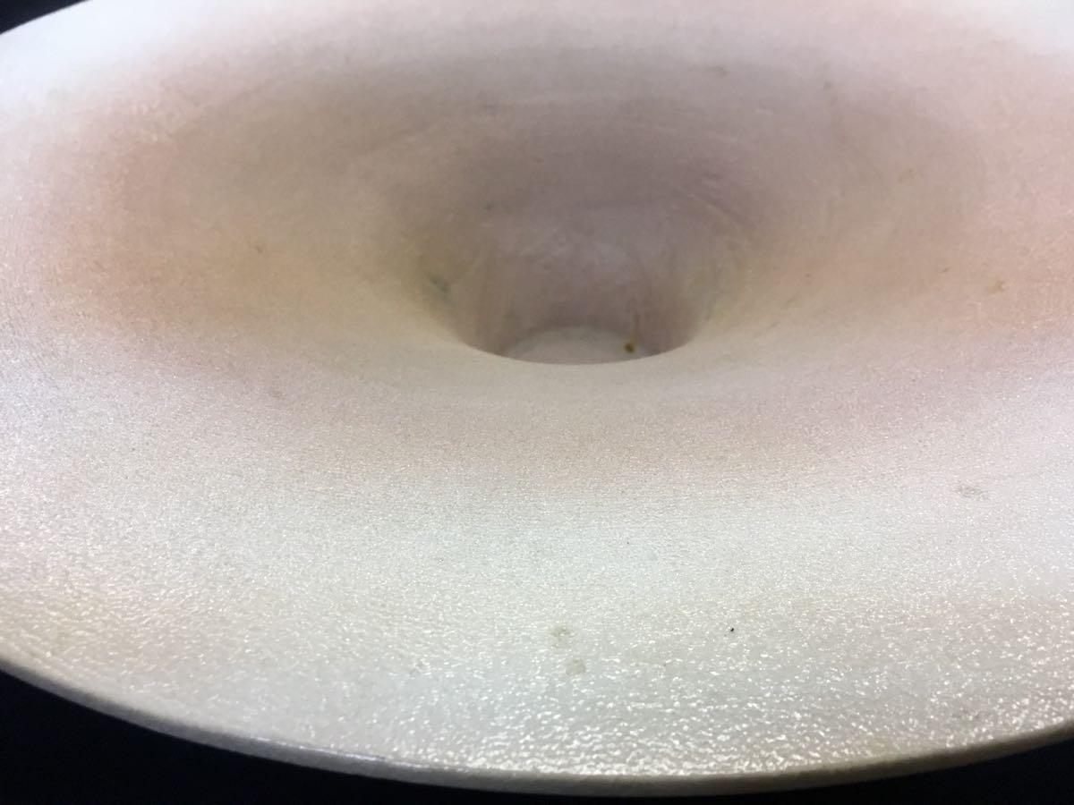 1円スタート 花器 大水盤 大皿 鉢 花器 生花 直径43㎝ 柊24_画像3