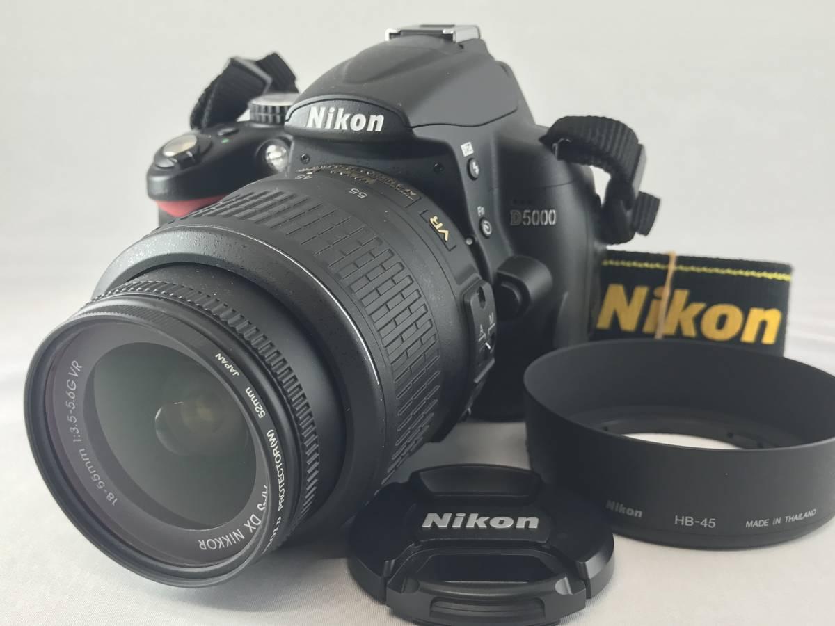 ★美品☆Nikon ニコン D5000 AF-S 18-55mm DX VR f3.5-5.6 G