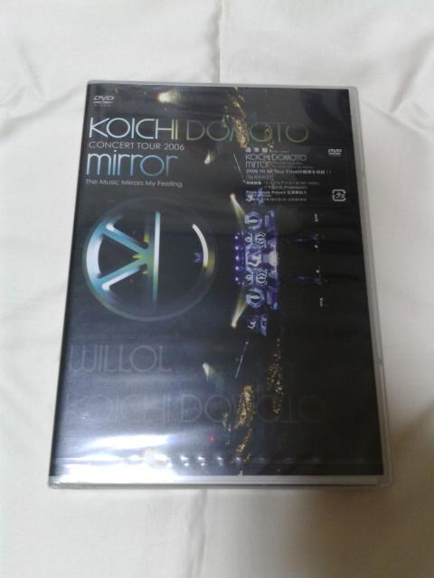 KinKi Kids 堂本光一 mirror DVD