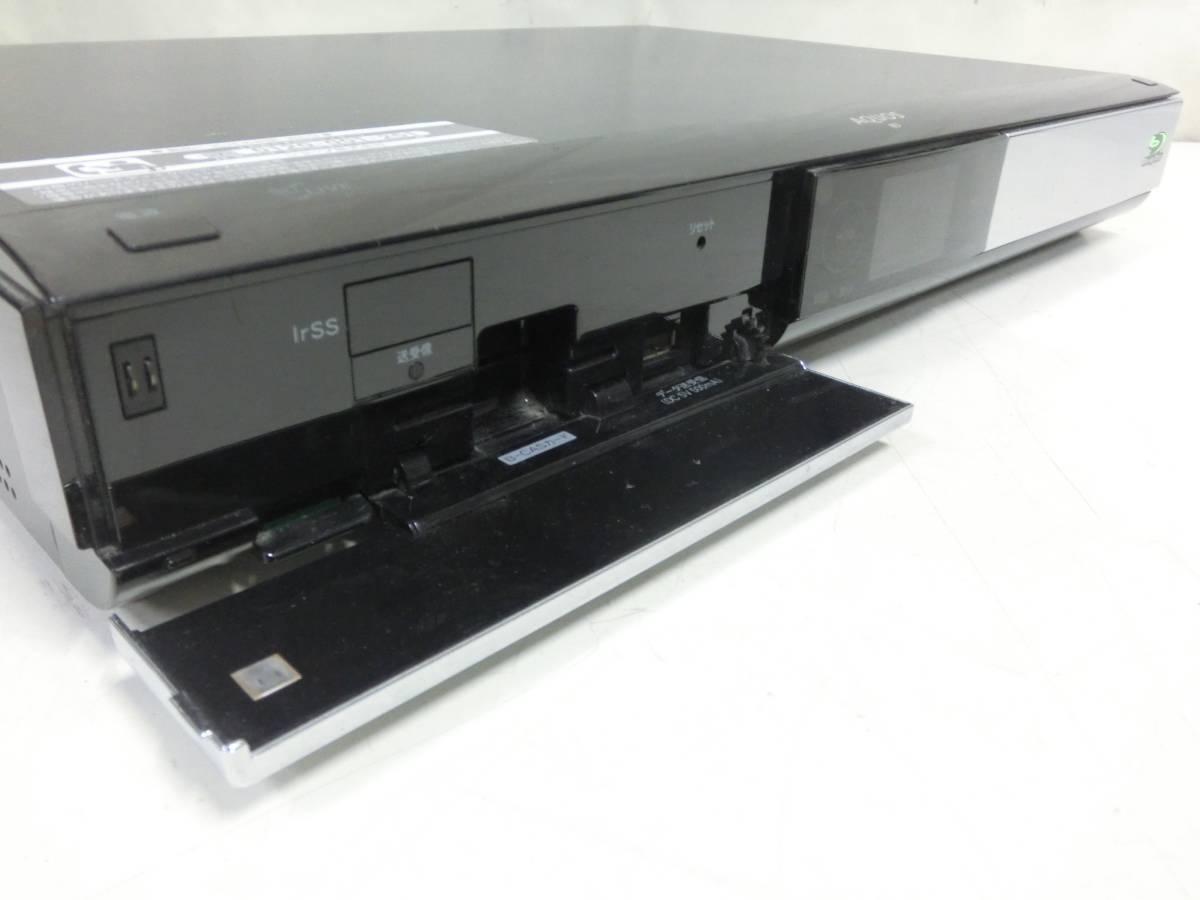 SHARP AQUOS BD/HDD ブルーレイレコーダー BD-HDW55 500GB 2010年製 通電OK N2080_画像3