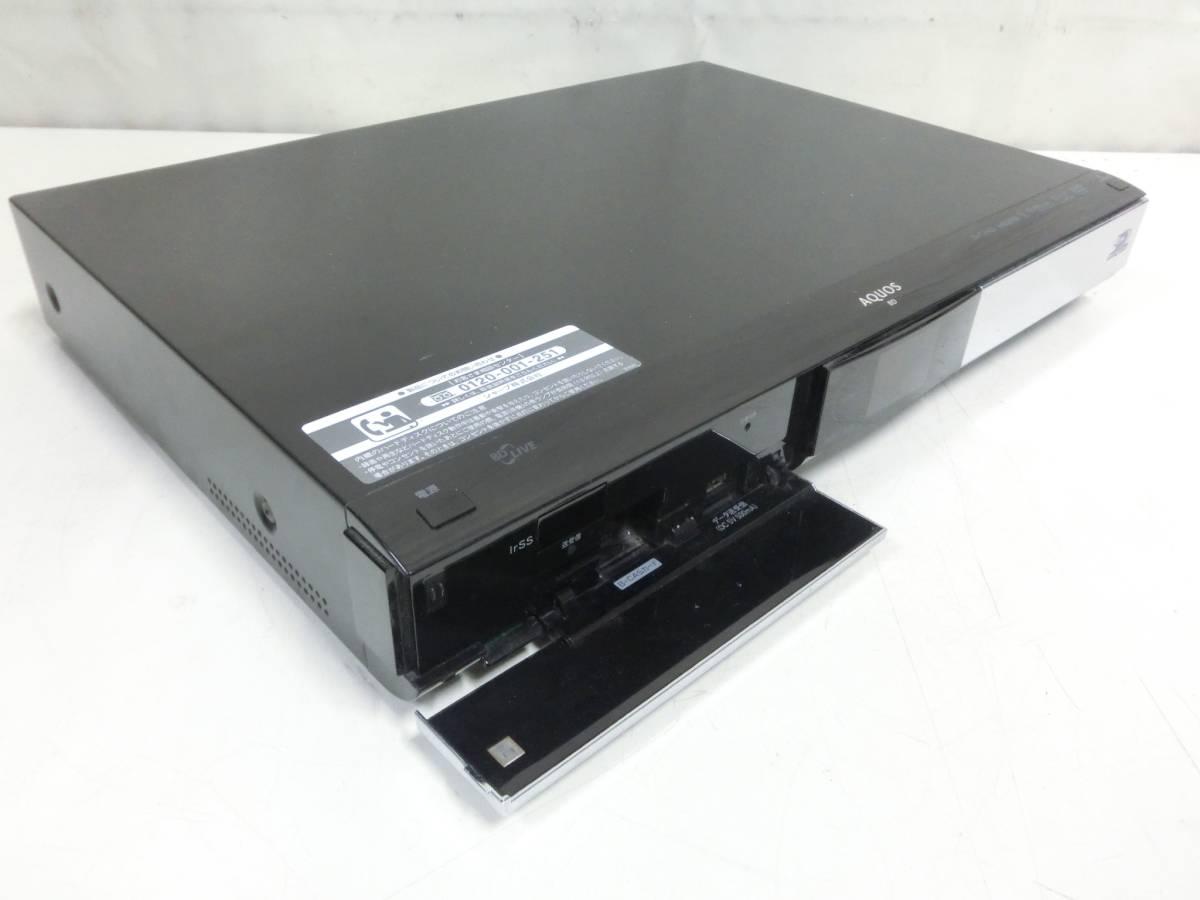 SHARP AQUOS BD/HDD ブルーレイレコーダー BD-HDW55 500GB 2010年製 通電OK N2080_画像2