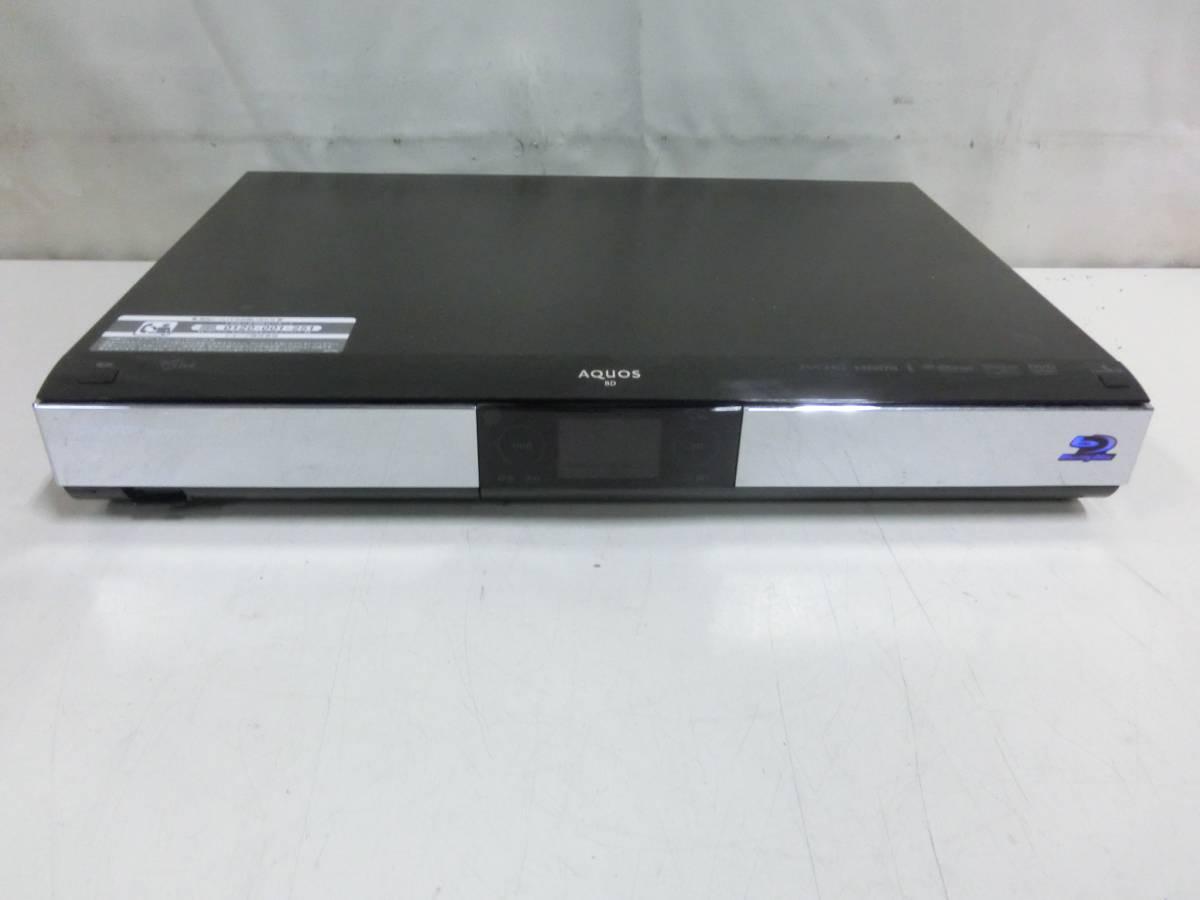 SHARP AQUOS BD/HDD ブルーレイレコーダー BD-HDW55 500GB 2010年製 通電OK N2080
