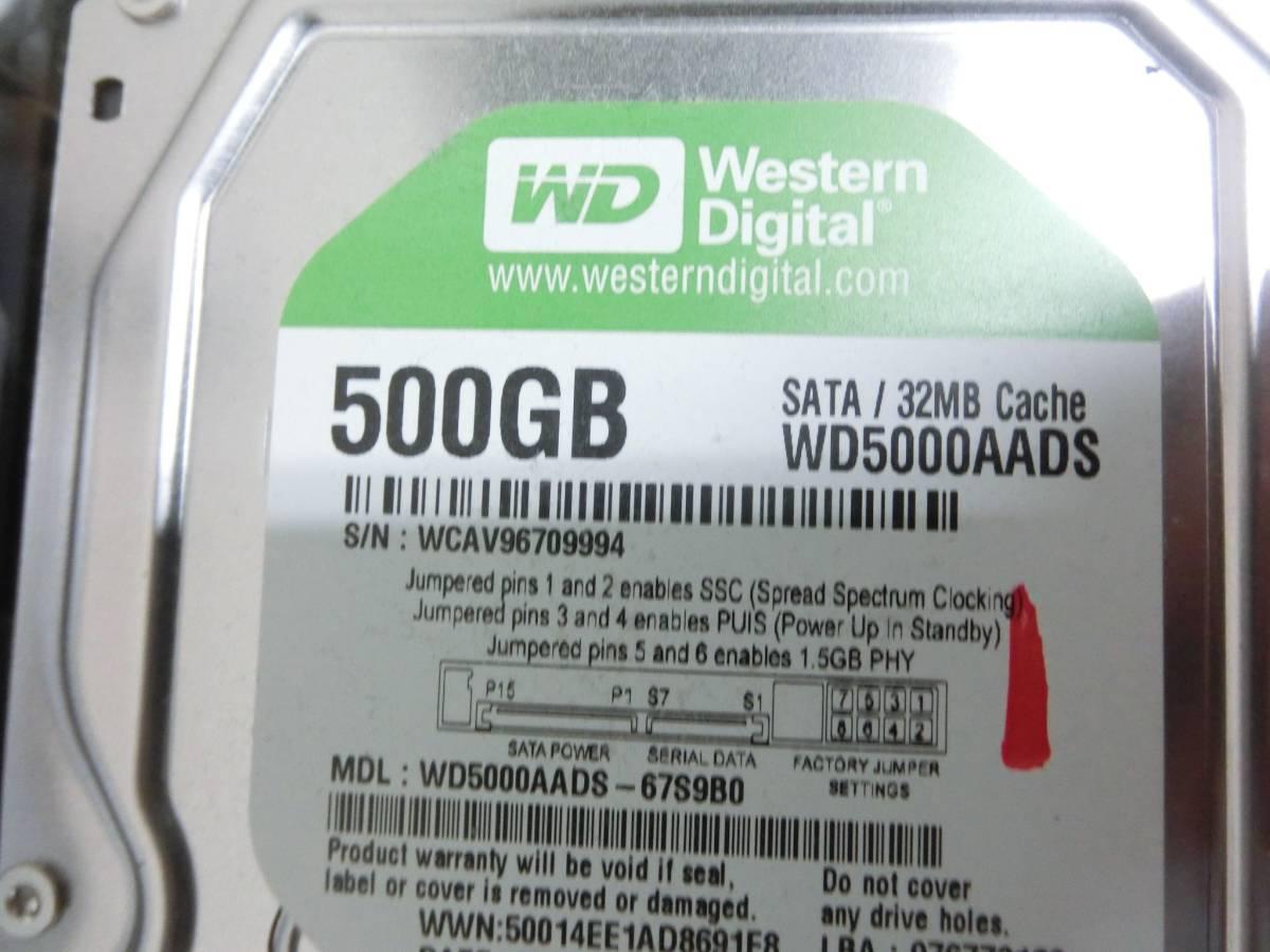SHARP AQUOS BD/HDD ブルーレイレコーダー BD-HDW55 500GB 2010年製 通電OK N2080_画像9