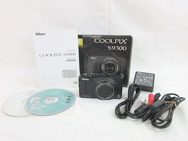 Nikon COOLPIX ニコン クールピクス S9300 デジタルカメラ 中古1208名ACE⑬