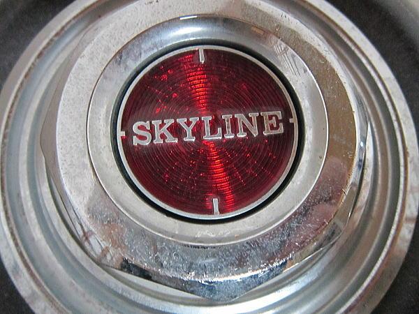 旧車 ◆ SKYLINE スカイライン ホイルキャップ4個セット ◆_画像3