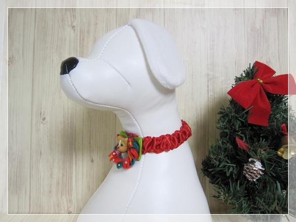 ★送料無料★ Sサイズ *ワンちゃん*クリスマスシュシュネックレス【スリムタイプ】5本セット #犬 #トリミング #ネックレス S1_画像5