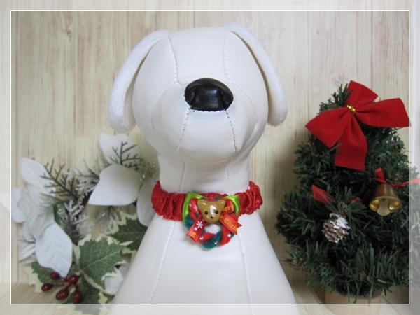 ★送料無料★ Sサイズ *ワンちゃん*クリスマスシュシュネックレス【スリムタイプ】5本セット #犬 #トリミング #ネックレス S1_画像4
