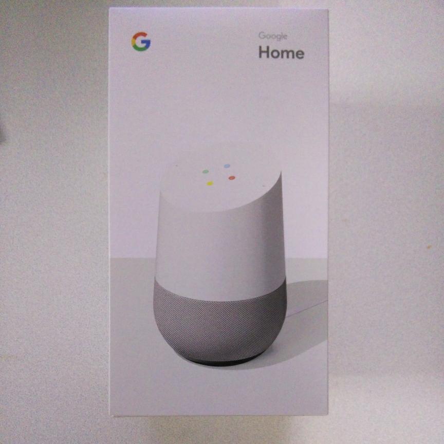新品未開封 Google Home グーグルホーム 日本版 AIスピーカー_画像1