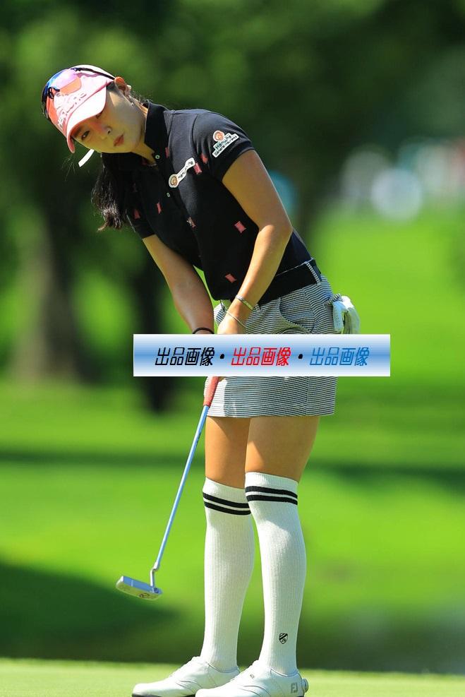 ユン・チェヨン 2L判写真1枚 女子ゴルフ ⑥