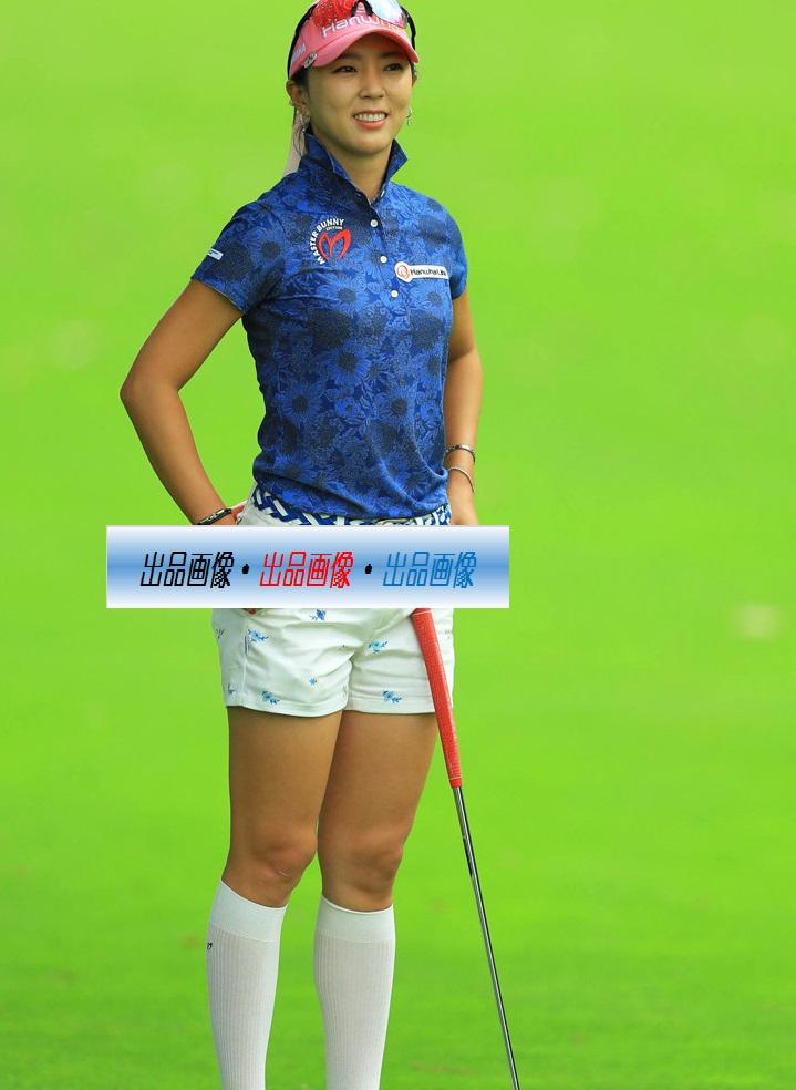 ユン・チェヨン 2L判写真1枚 女子ゴルフ ①