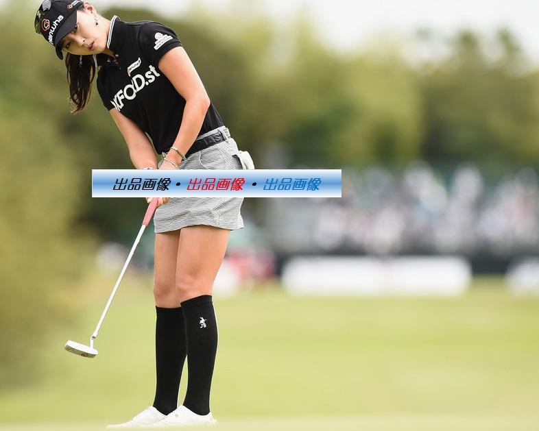 ユン・チェヨン 2L判写真1枚 女子ゴルフ ④