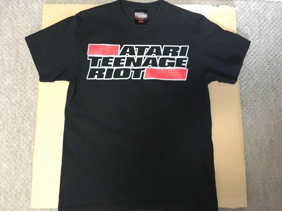 ATARI TEENAGE RIOT★オフィシャルTシャツ Sサイズ★アタリティーンエイジライオット