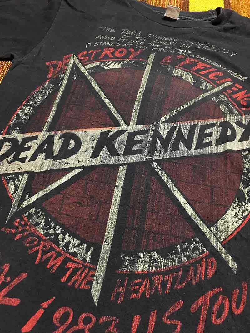 punk デッド・ケネディーズ (Dead Kennedys) 古着 黒 black ハードコアパンク 中古 バンドT パンクTシャツ vintage?