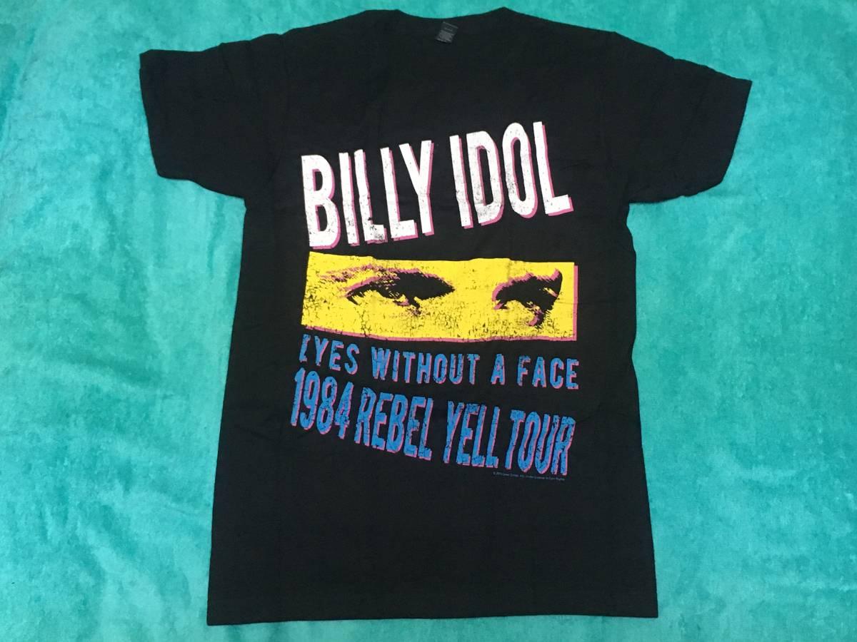 BILLY IDOL ビリー アイドル Tシャツ S ロックT バンドT ツアーT Rebel Yell