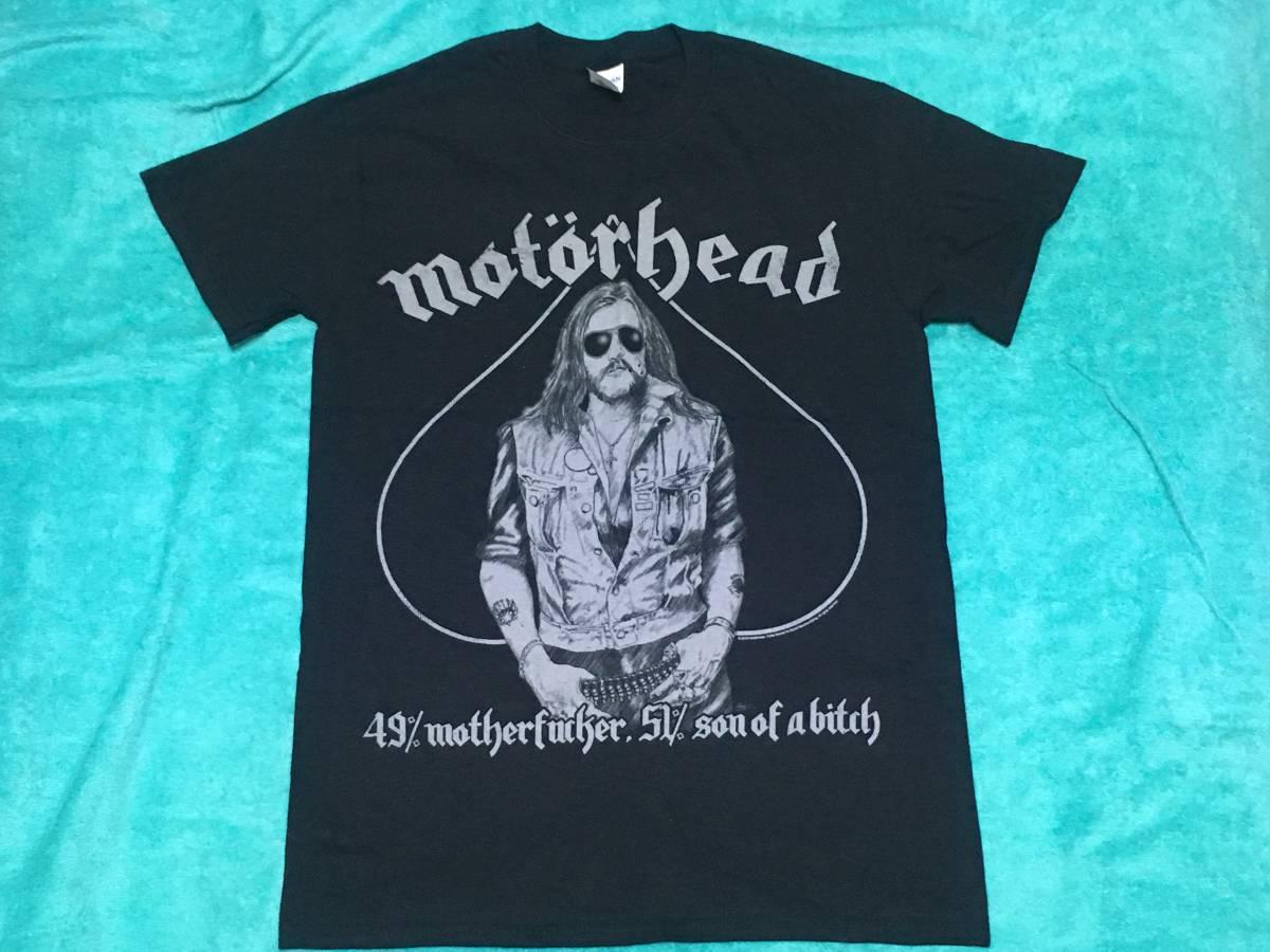 MOTORHEAD モーターヘッド Tシャツ M バンドT ロックT Lemmy Ace Of Spades NWOBHM