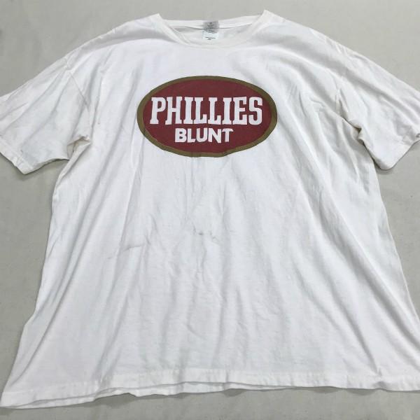90s GFS PHILLIES BLUNT Tシャツ(検索 Futura stash フューチュラ dj プレミア着用 raptees フィリーズブラント