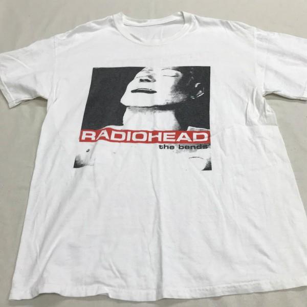 初期デザイン RADIOHEAD BENDS Tシャツ(検索 レディオヘッド creep bends トムヨーク undercover jonio マイブラ atoms for peace