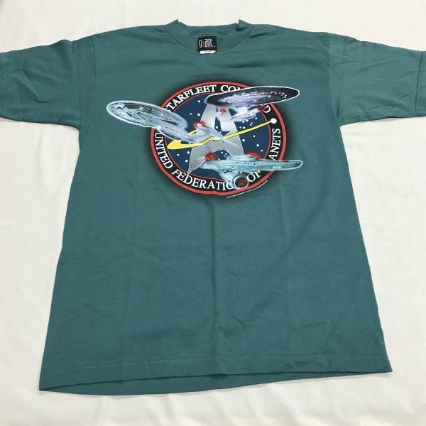90s デッドストック Star Trek Starfleet Tシャツ(検索 スタートレック スターフリート コピーライト GIANT製