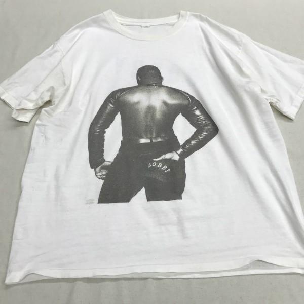90s ヴィンテージ BOBBY BROWN Tシャツ(検索 ボビーブラウン ディアンジェロ boyz 2 men sade コピーライト raptees好きに