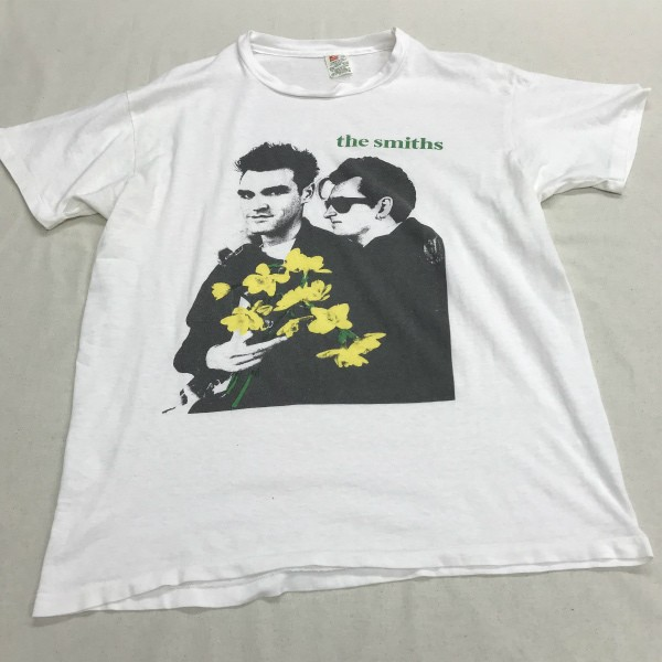 90s USA製 SMITHS Tシャツ(検索 スミス モリッシー シングルステッチ morrissey OLD HANES