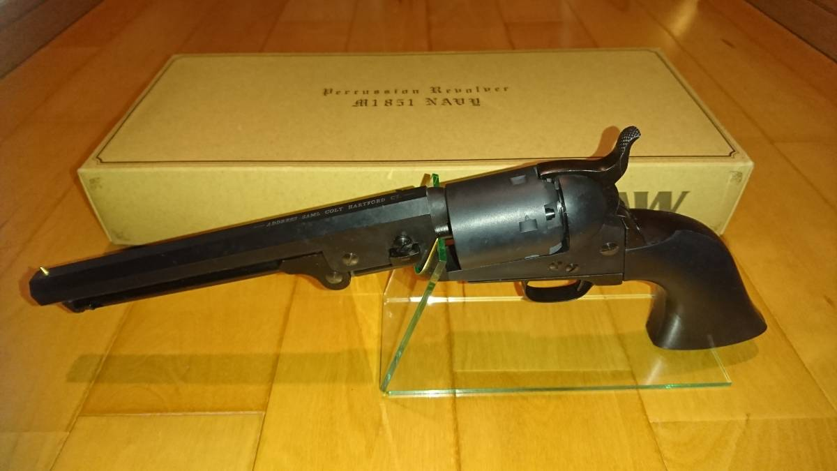 CAW M1851 NAVY 3rd STD 4inch モデルガン Heavy Weight