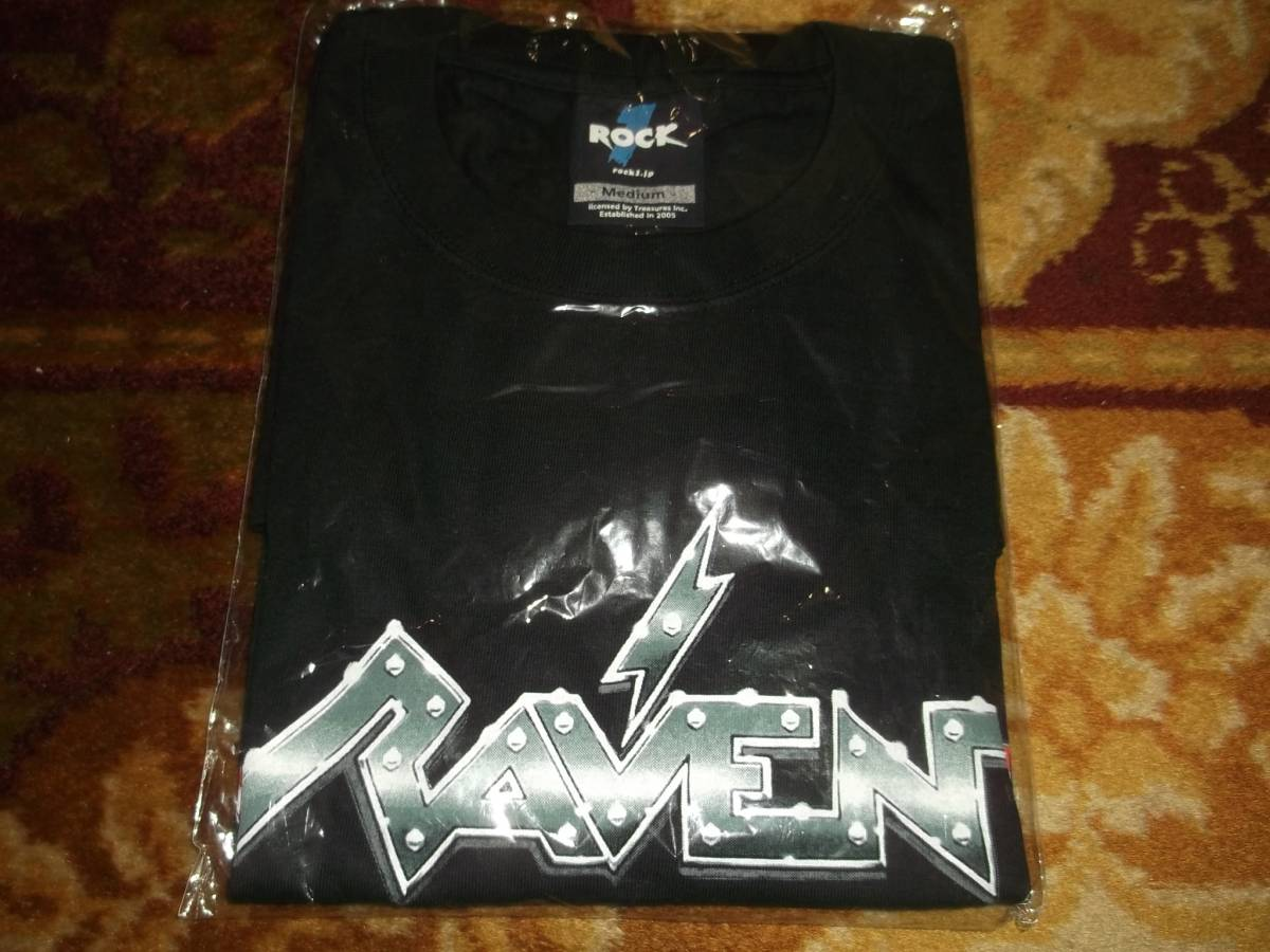 RAVEN 2009年ジャパンツアーシャツ サイズM 新品 レイブン WALK THROUGH FIRE NWOBHM