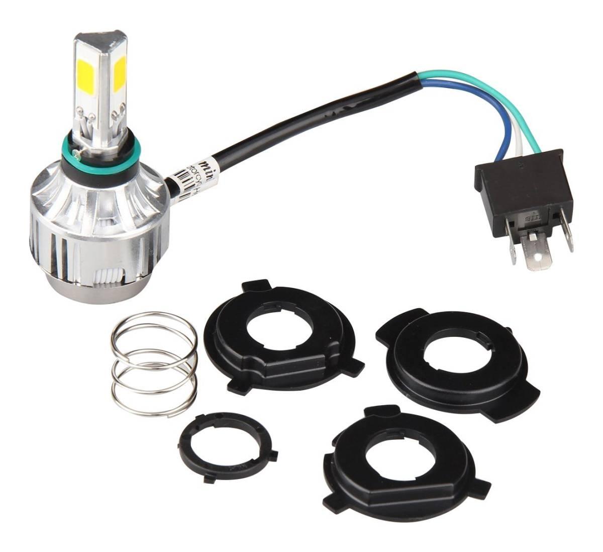 返金/交換保証 即出荷 オートバイ 二輪用 LEDヘッドライト 2000LM 6V~36V H4R1/PH7/PH8 対応