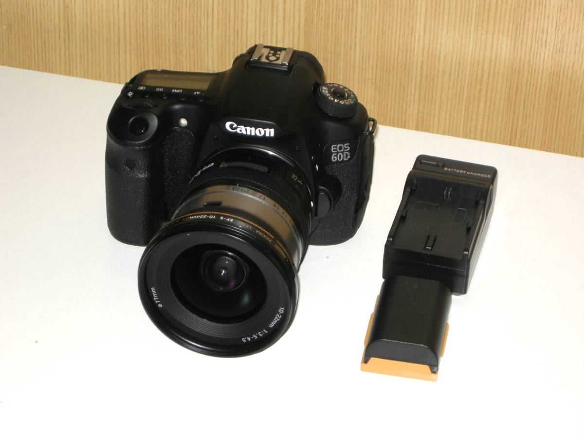 Canon EOS 60D + EF-S 10-22mm f3.5-4.5 USM 美品