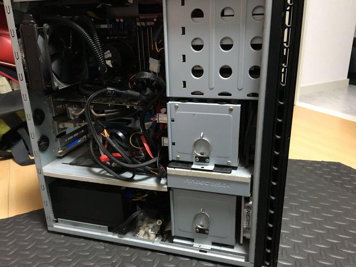 ANTEC 自作PC パーツ多数付き_画像2