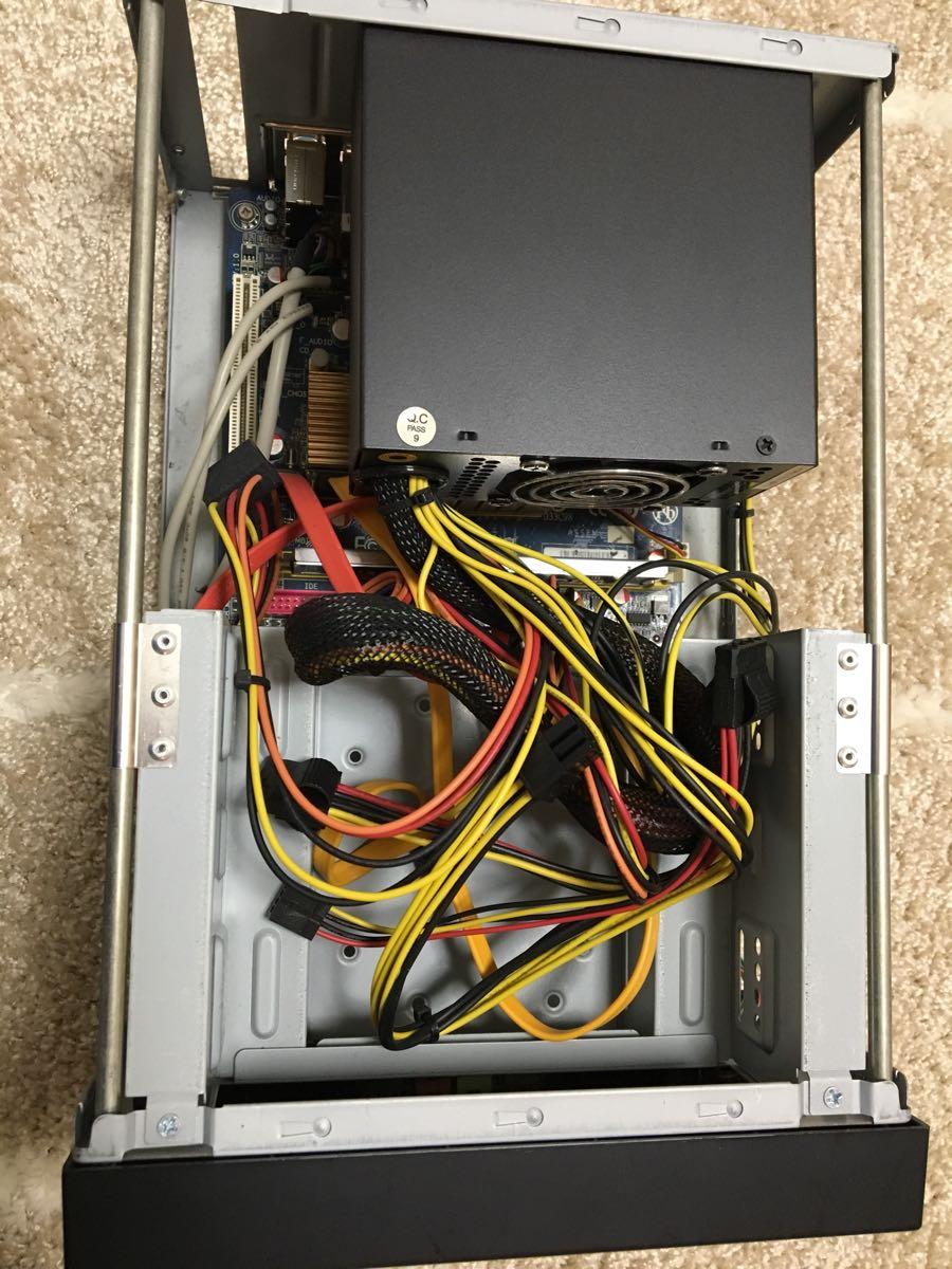 自作PC Gigabyte cpu マザーボード、電源、メモリー付き_画像6