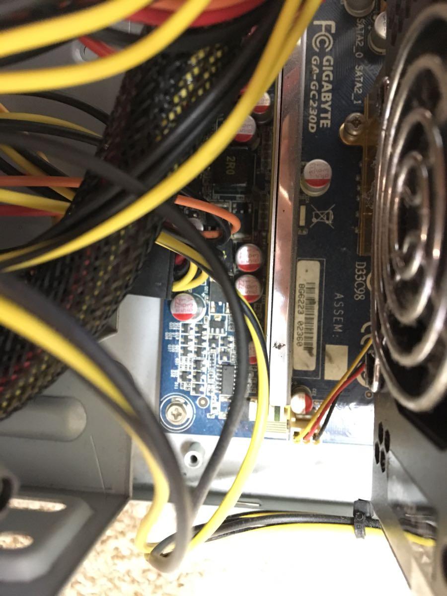 自作PC Gigabyte cpu マザーボード、電源、メモリー付き_画像5