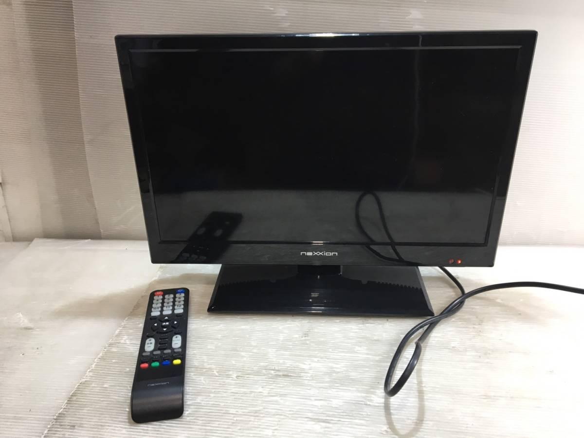 (47)2015年製 nexxion 19V型 液晶テレビ リモコン付き