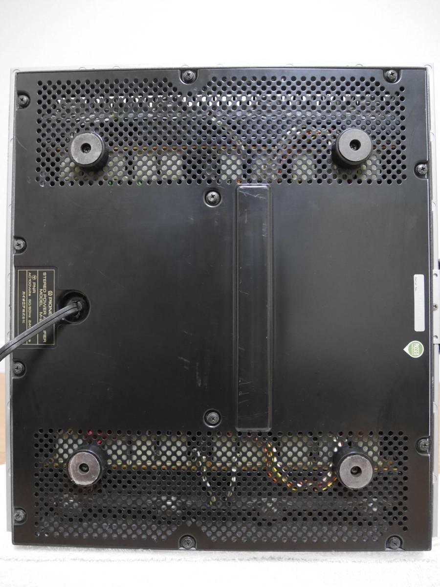 Pioneer パイオニア M-22 アンプ ジャンク品_画像4
