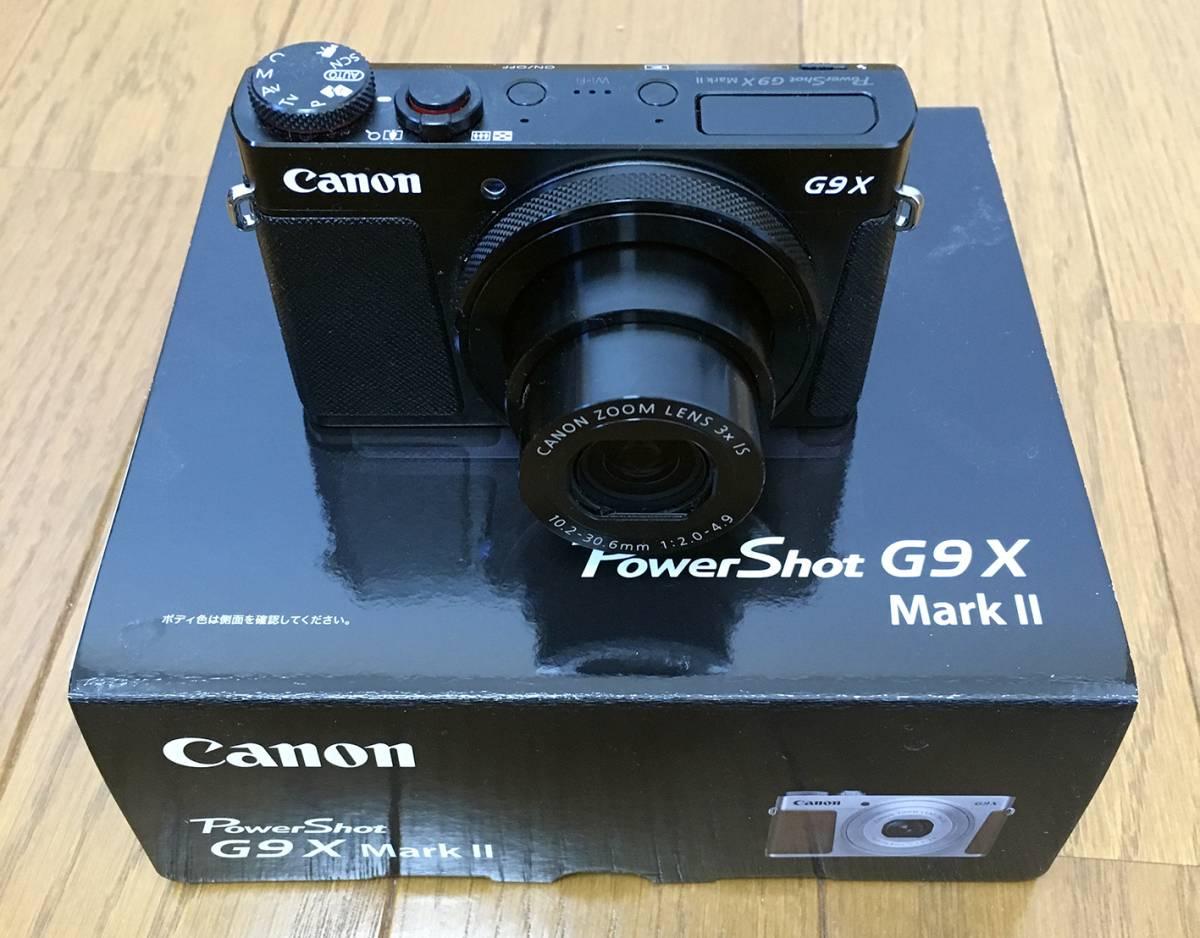 極美品!/Canon PowerShot G9 X Mark 2/使用は海外旅行で一度きり