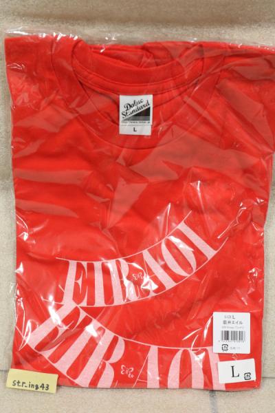 新品 藍井エイル EIR X'mas Tシャツ Winter Lサイズ 2012 グッズ
