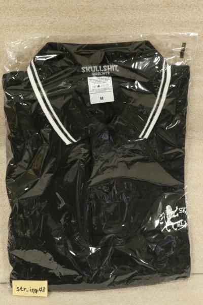新品 ELLEGARDEN × SKULLSHIT W-NAME ポロシャツ Mサイズ グッズ